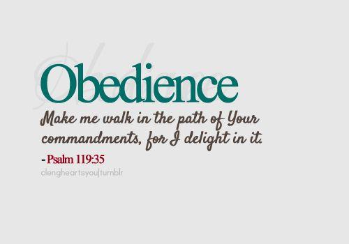 DIVINE DIRECTIVE: OBEDIENCE